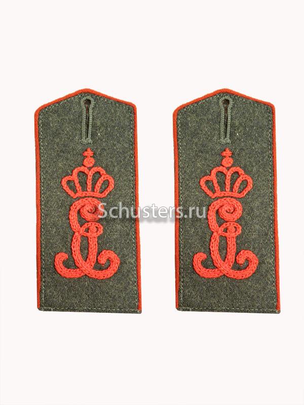 Shoulder straps (artillery) (Погоны с шифровкой артиллерии) M2-005-Z