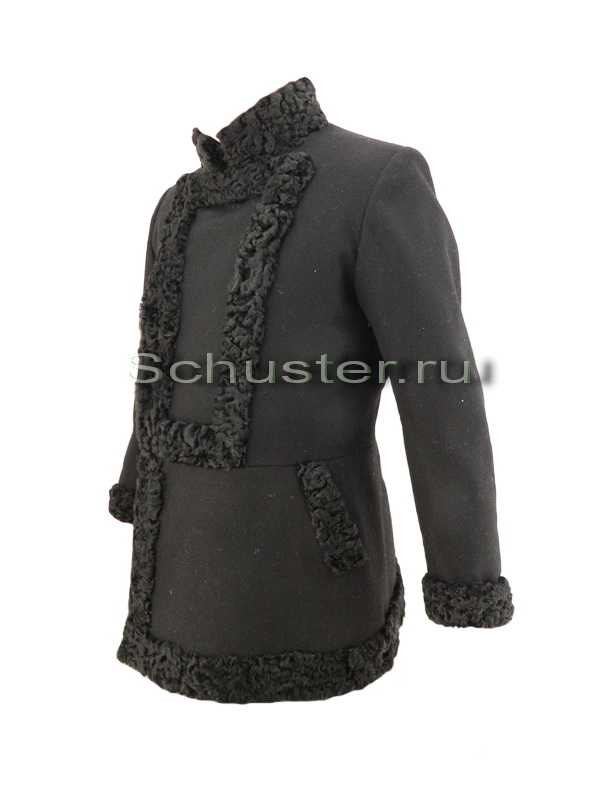 Производство и продажа Бекеша (мех черный/сукно черное) M1-057-U с доставкой по всему миру