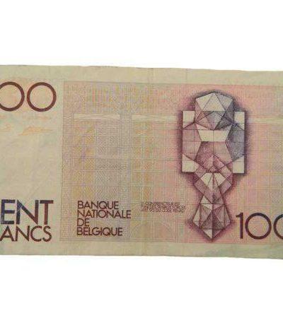 Производство и продажа Бельгийская купюра 100 франков (обр.1) M6-012-N с доставкой по всему миру