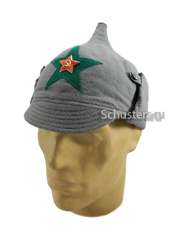 Производство и продажа Буденовка (зимний шлем) байковая обр. 1927 г. (пограничные войска НКВД) M3-008-Gc с доставкой по всему миру