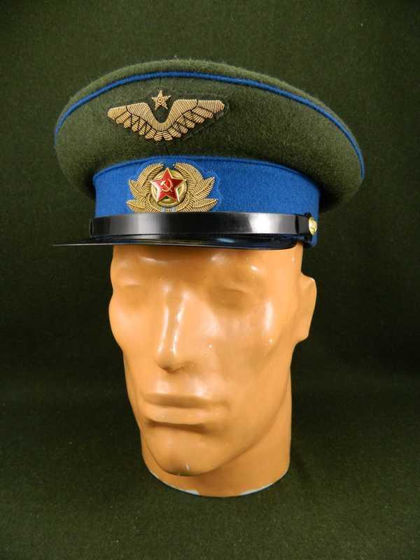 Производство и продажа Фуражка суконная обр. 1941 г. (ВВС) M3-047-G с доставкой по всему миру
