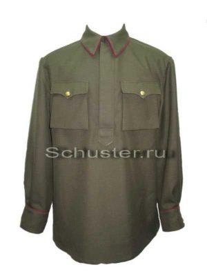 Производство и продажа Гимнастерка (рубаха) для комначсостава обр. 1935 г.из полушерстяной ткани M3-007-U с доставкой по всему миру