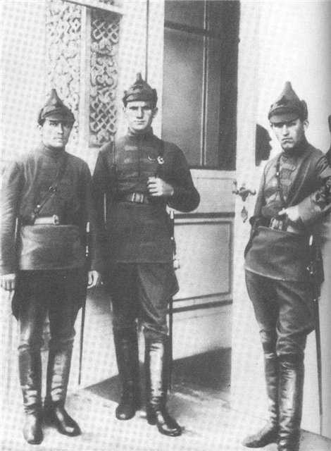 Gimnasterka (summer) tunic 1919 (Гимнастерка (рубаха летняя) обр. 1919 г. ) M3-034-U