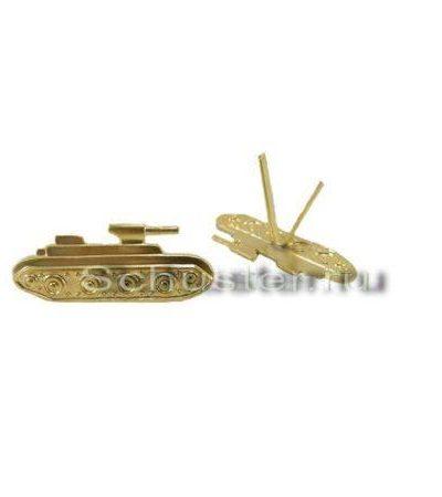 EMBLEMS M35/45 (ARMORED TROOPS) (Эмблемы рода войск обр. 1935-45 гг. (бронетанковые войска)) M3-062-Z