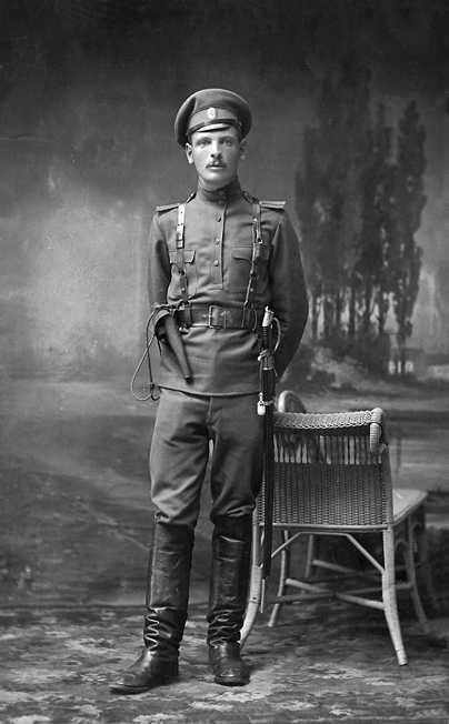 M1912 HOLSTER FOR REVOLVERS FOR OFFICERS (Кобура обр. 1912 г. к револьверу (для офицеров)) M1-022-S