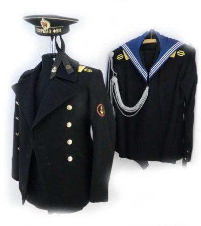 Производство и продажа Комплект униформы моряка ВМФ СССР  с доставкой по всему миру