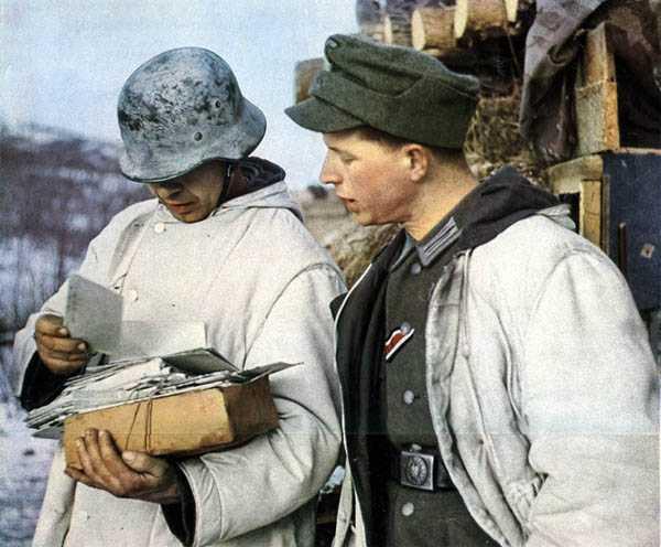 FIELD-GREY/WHITE REVERSIBLE WINTER PARKA (Куртка зимняя двусторонняя обр. 1942 г. (Tarnungs Jacke fur Winter)) M4-023-U