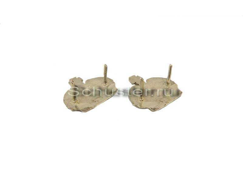 Silver Crowns for shoulder boards (Накладные короны на погоны к вензелям (позолоченные)) M1-032-Z