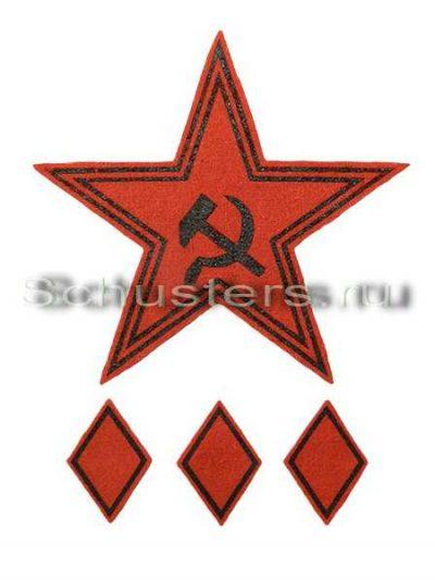 Производство и продажа Нарукавный знак обр. 1919 г. (командующего армией) M3-034-Z с доставкой по всему миру