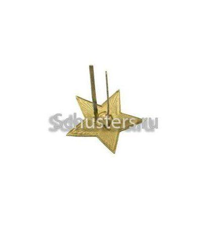 Производство и продажа Оригинальная звезда для фуражек -бесказырок ВМФ РККА. 28 мм (латунь) M3-050-F с доставкой по всему миру