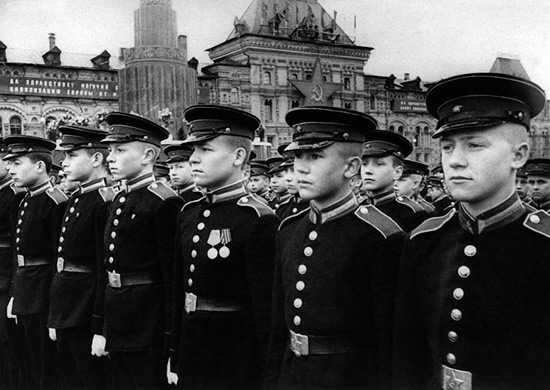 Производство и продажа Парадный мундир воспитанника суворовского военного училища обр.1943 года M3-097-U с доставкой по всему миру