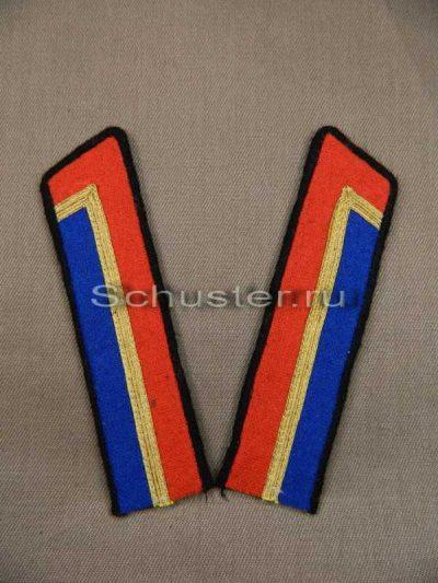 Производство и продажа Петлицы гимнастерочные курсантов военных училищ образца 1940 г.(кавалерия) M3-054-Z с доставкой по всему миру