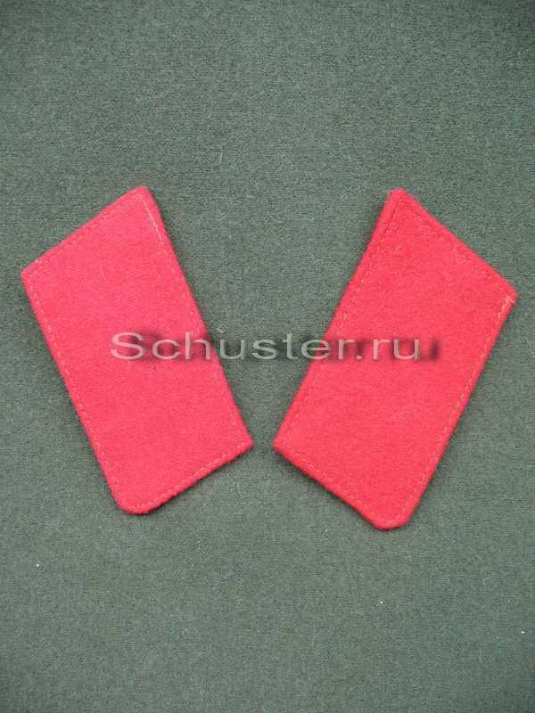 Производство и продажа Петлицы шинельные (красные) M2-009-Z с доставкой по всему миру