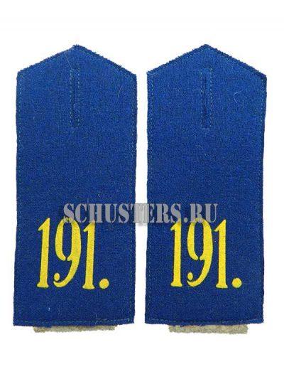 Производство и продажа Погоны на шинель с номером полка M1-071-Z с доставкой по всему миру