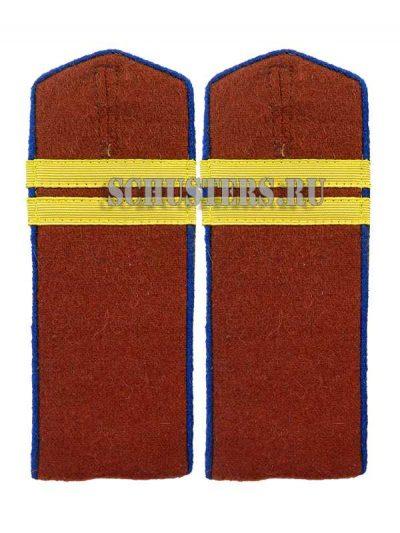 Производство и продажа Погоны повседневные младшего командного состава обр. 1943 г.(младший сержант внутренних войск НКВД) M3-341-Z с доставкой по всему миру