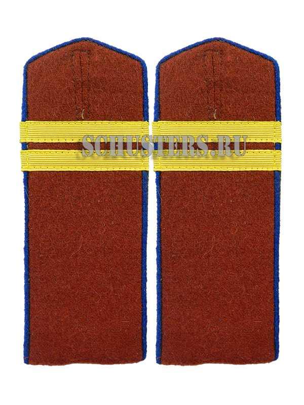 SHOULDER BOARDS FOR LOWER RANKS 1943 (NKVD INTERNAL TROOPS) (Погоны повседневные младшего командного состава обр. 1943 г. (младший сержант внутренних войск НКВД)) M3-341-Z