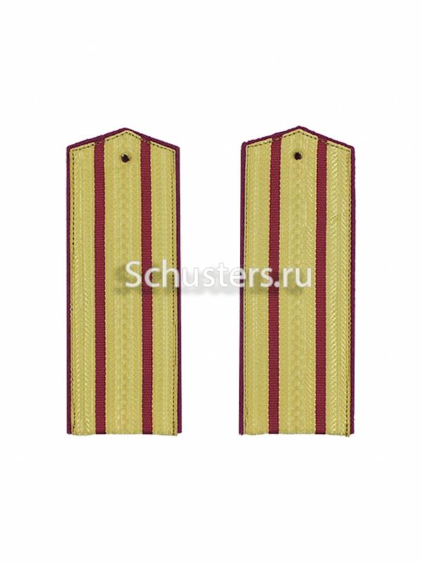 Shoulder Boards Everyday wear (Gold) for Officers (Major-Colonel) infantry 1943 (Погоны повседневные офицерские обр. 1943 г. старшего комначсостава (Пехота)) M3-288-Z
