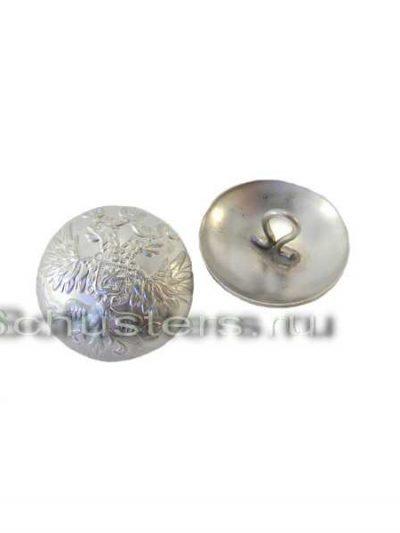 Buttons on his tunic and greatcoat (silver color) (Пуговица большая форменная (посеребрянная)) M1-020-F