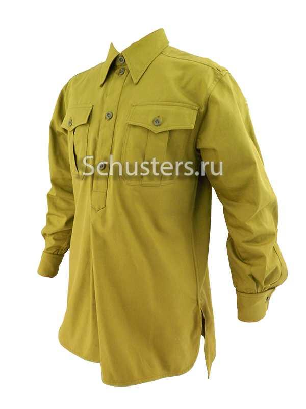 HJ/DJ SERVICE SHIRT (Рубашка германской юношеской организации) (Diensthemd) M4-085-U