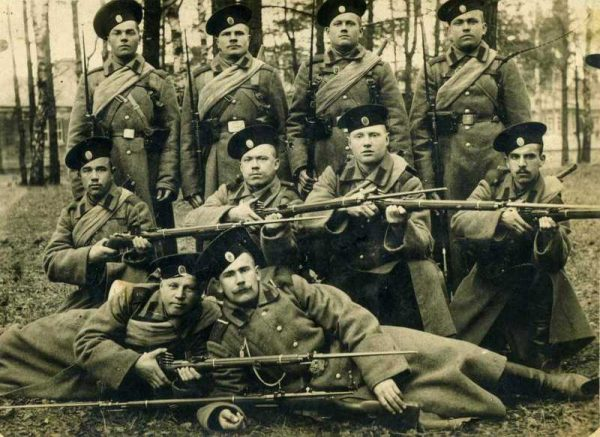 Ammo Box for Mosin Rifle, Pattern 1891 (Сумка патронная к винтовке 'Мосина' обр. 1891 г. ) M1-027-S