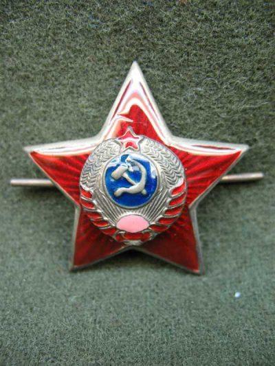 Производство и продажа Звезда обр. 1939 г. к головным уборам старшего начсостава милиции M3-014-F с доставкой по всему миру