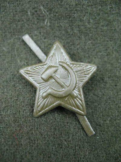 Производство и продажа Звездочка на пилотку обр.1941 г. M3-016-F с доставкой по всему миру