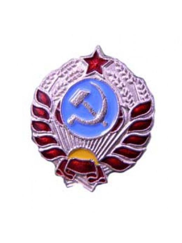 Emblems on collar tabs and shoulder straps