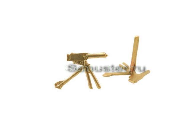 Производство и продажа Эмблема на погоны военнослужащих пулеметных команд M1-035-Z с доставкой по всему миру
