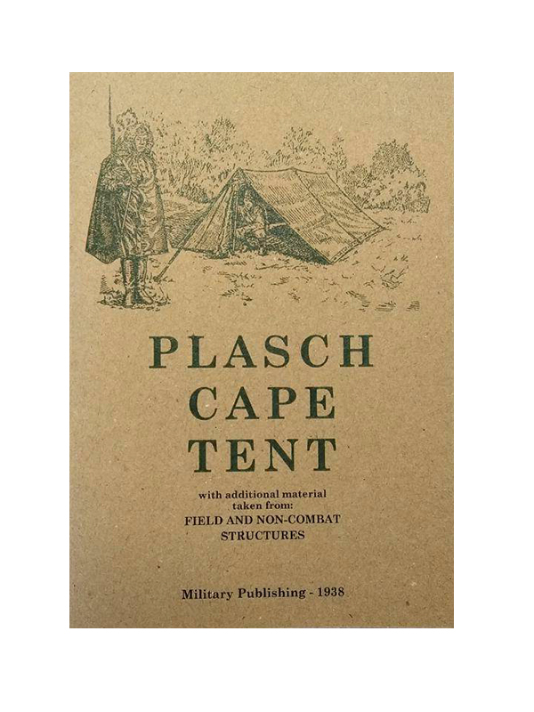Plasch cape tent (Military Publishing - 1938) M3-2400-R